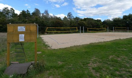 Beachvolleyballanlage HTG