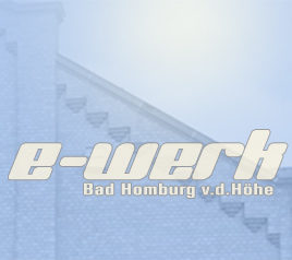 Logo e-werk bad homburg